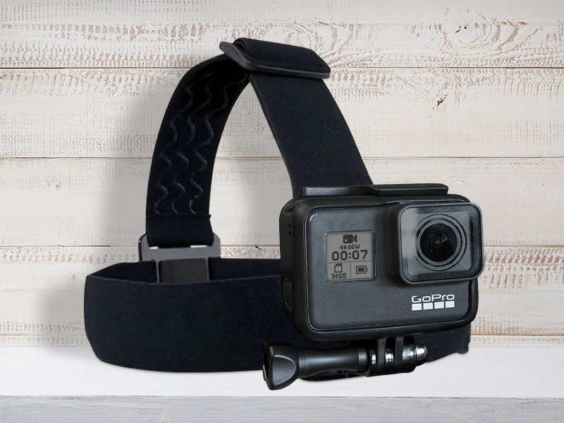 Headband for GoPro With Carry Bag