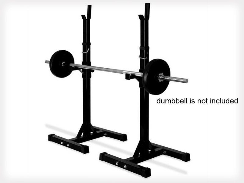 Home Gym Rack Stand with Adjustable Height