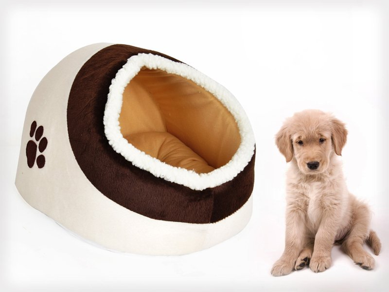 Pet Cave with Mattress - Warm & Comfortable