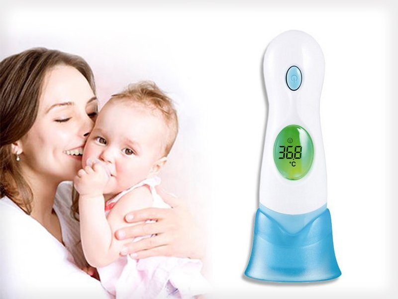 8-in-1 Digital Ear Infrared Thermometer
