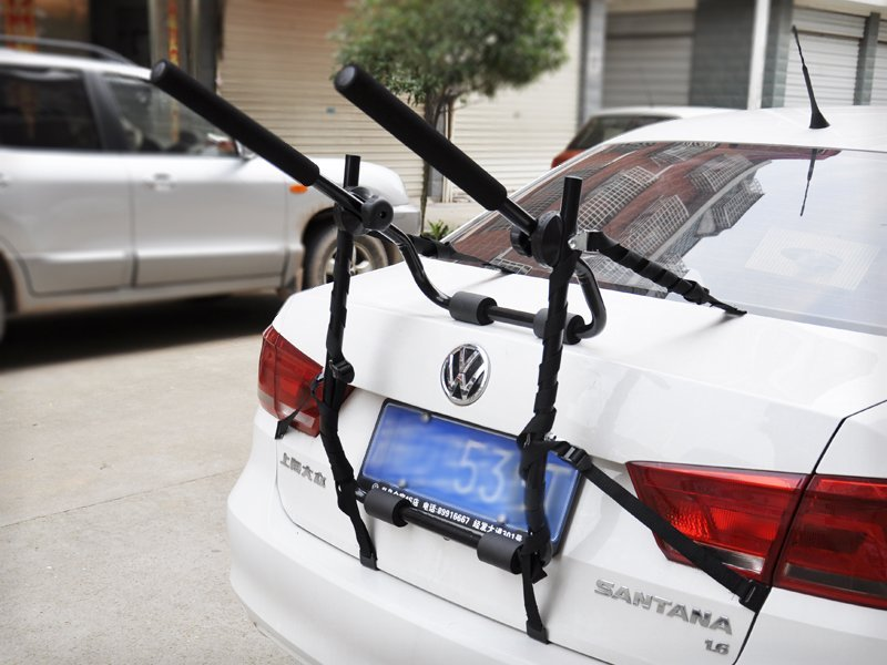 Secure Vehicle Bike Rack Carrier for 2 Bicycles