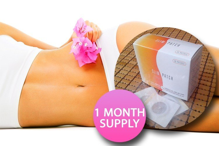 Magnetic Tummy Slimming Patches - 1 Month Supply