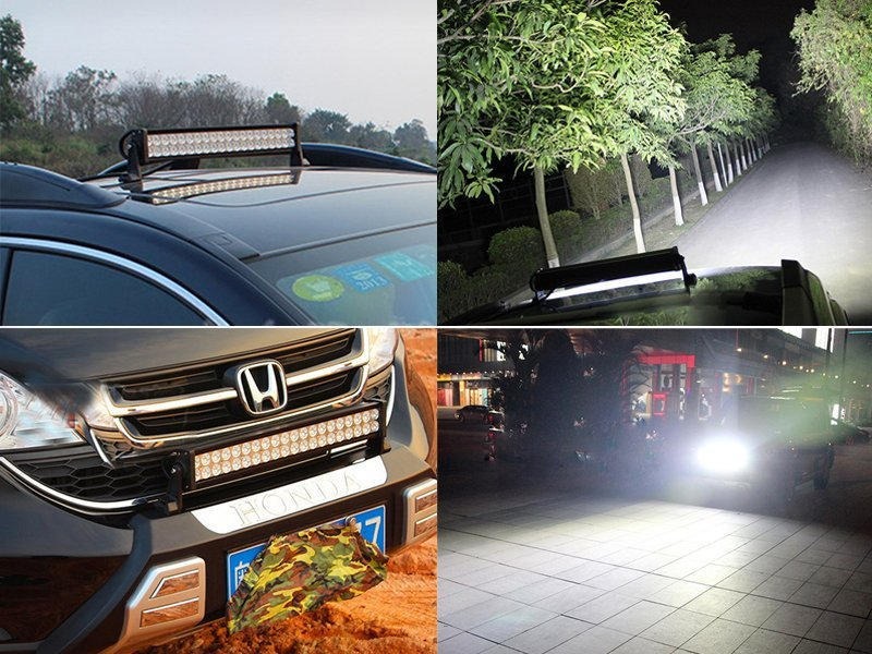 "24"" 120W CREE Off-Road Flood Light for Truck SUV"