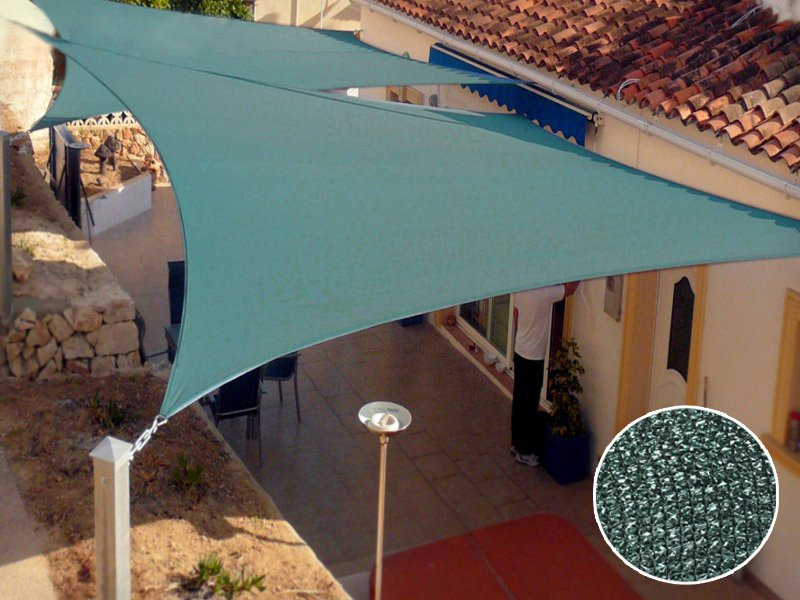Sun Shade Sail Heavy Duty 3x5M Awning 185 GSM
