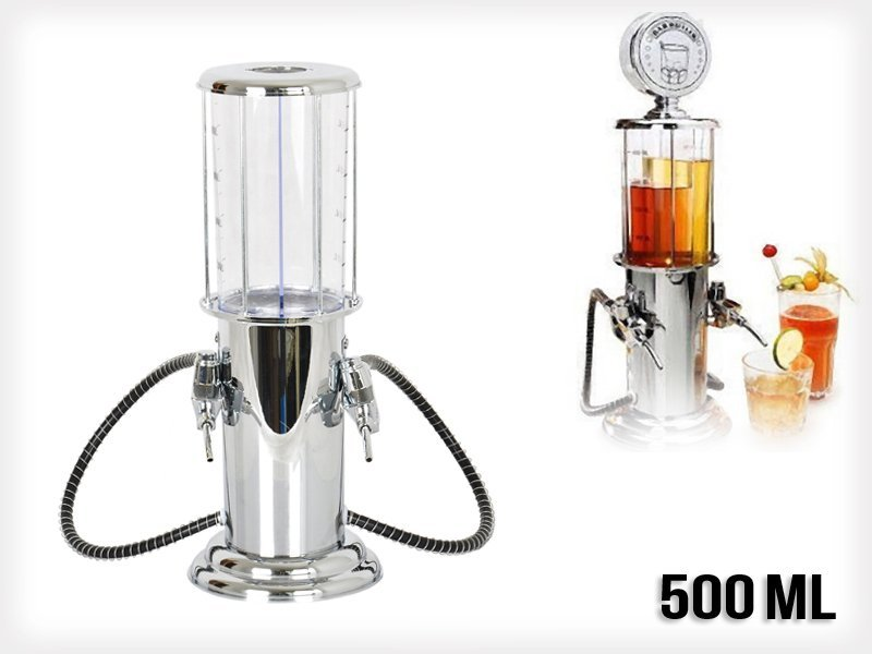 500mL Double Gun Beer & Beverage Dispenser