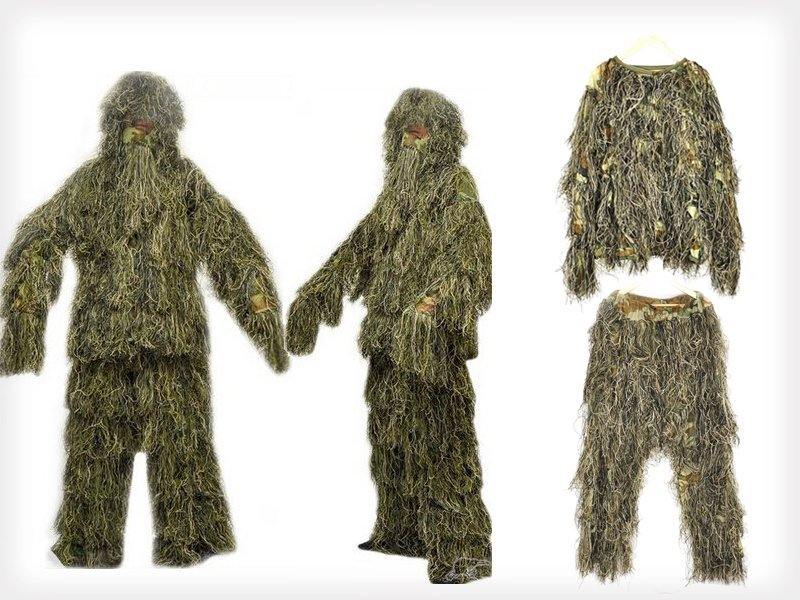 Full Body Camouflage Forest Hunting Suit