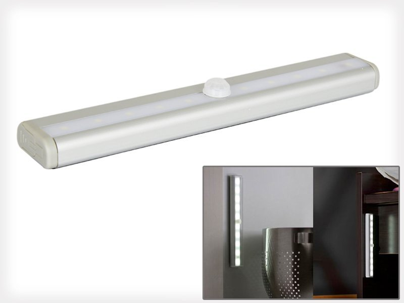 Wireless Motion-Sensing Super-Bright 10 LED Light