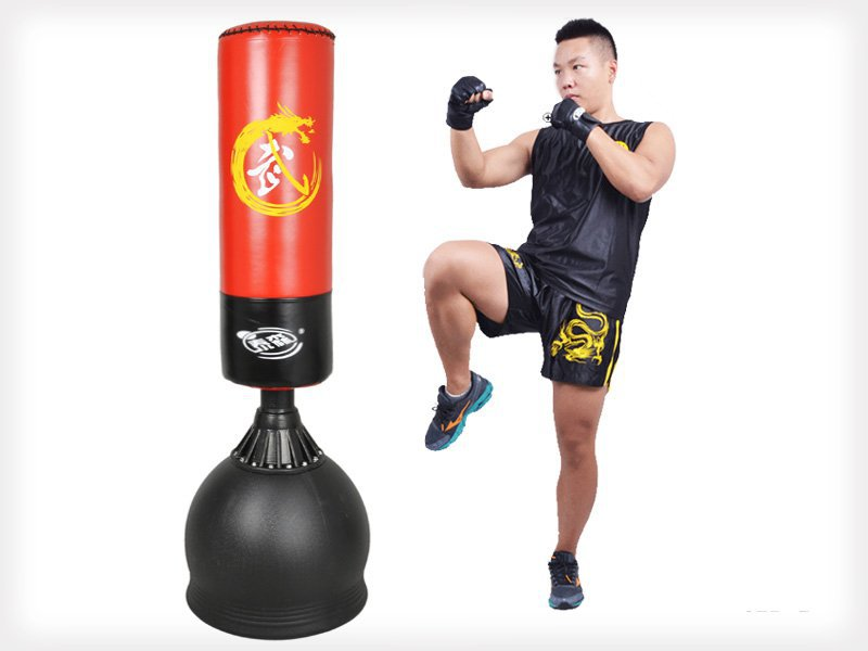 1.7M Free-Standing Boxing Punching Bag