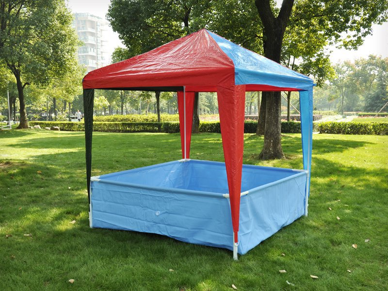 Kids' Outdoor Play Gazebo with Pool
