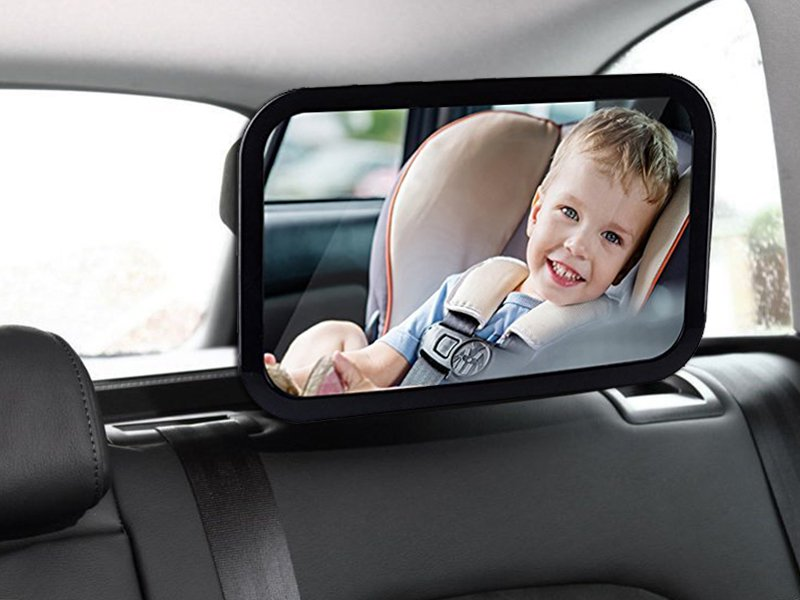 Car Rear Seat Baby Safety Mirror