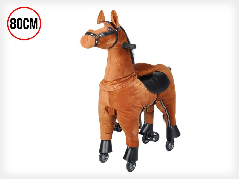 Kids Action Pony Ride-on Horse - 80cm