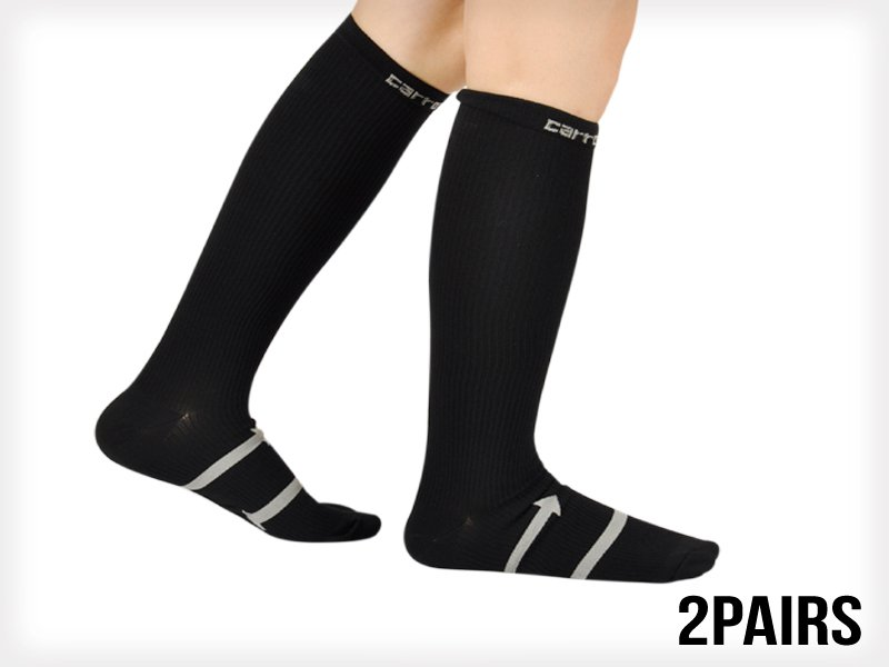 Fitness Compression Stockings  x 2 Pairs