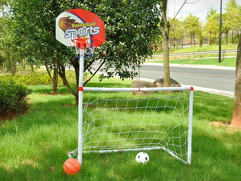 2 in 1 Water & Land Football / Basketball Toy Set