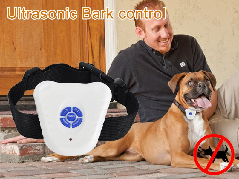 Ultrasonic Bark Collar Bark Stop Control