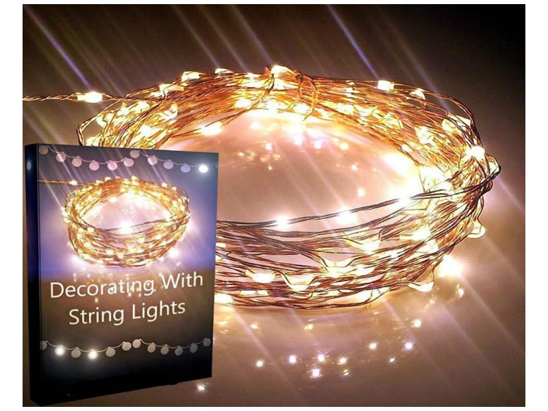 Light Bulb String Lights Nz : SOLAR LED STRING LIGHTS - 2PACK @ Crazy Sales - We have the best daily deals online!