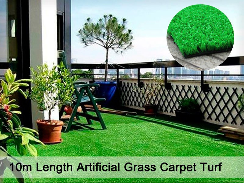10m Length Of Artificial Grass Turf Lawn