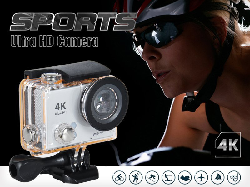 4K UHD WIFI Waterproof Sport Action Camera