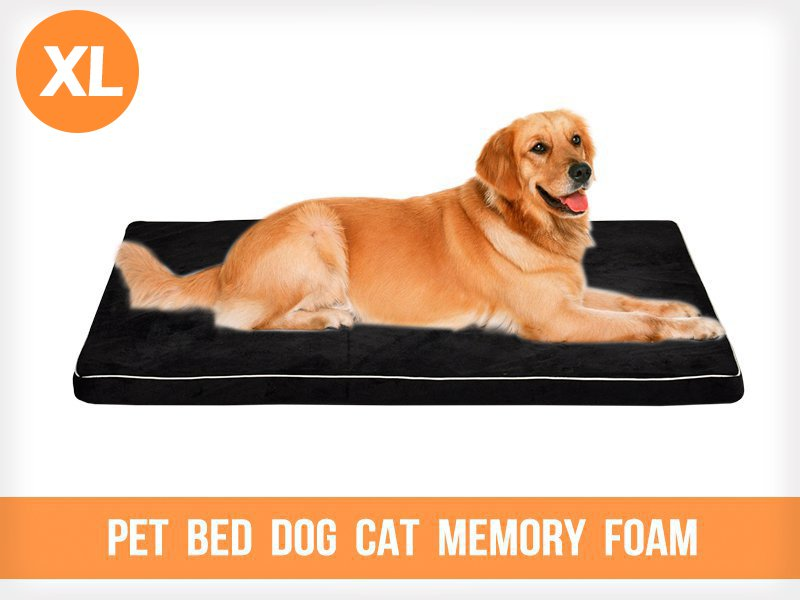 Pet Bed Dog Cat Memory Foam - Extra Large