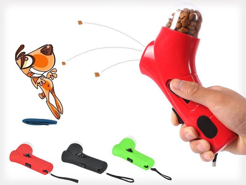 Portable Pet Treat Launcher