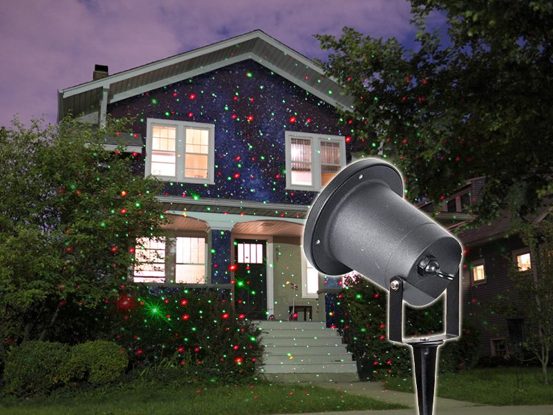 Outdoor Party Projection Light w/ Remote