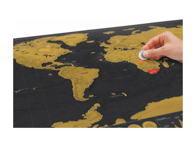 Personalised World Scratch Map Crazy Sales We Have The
