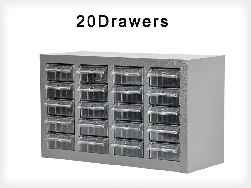 20 Bin Drawer Garage Storage Organizer