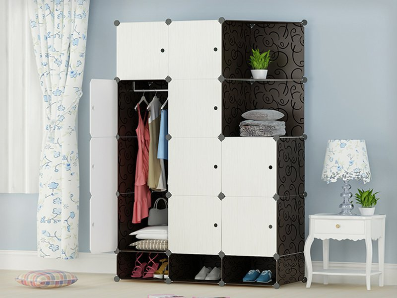 Fifteen Cabinet Storage Wardrobe
