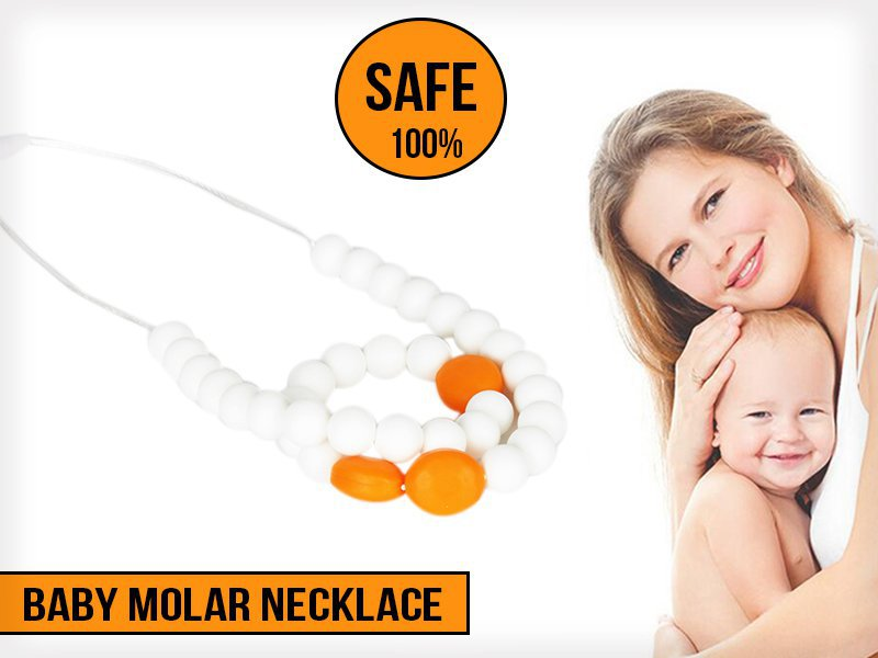 Amber Teething Necklace for Infants