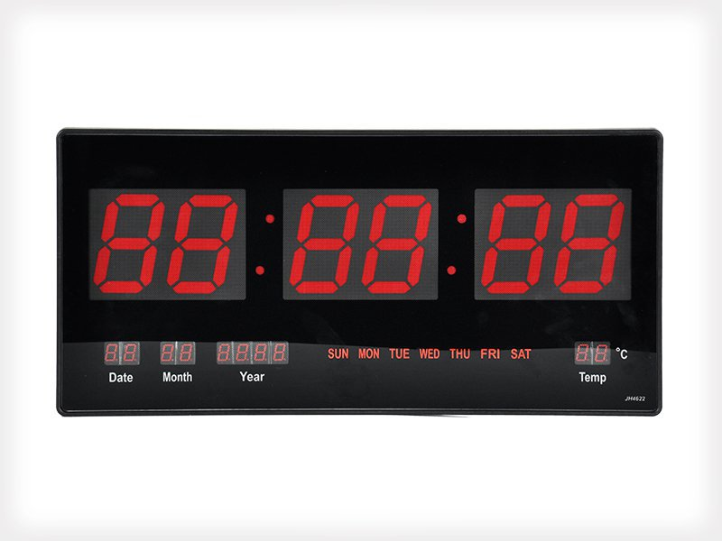 Wall Mounted LED Clock