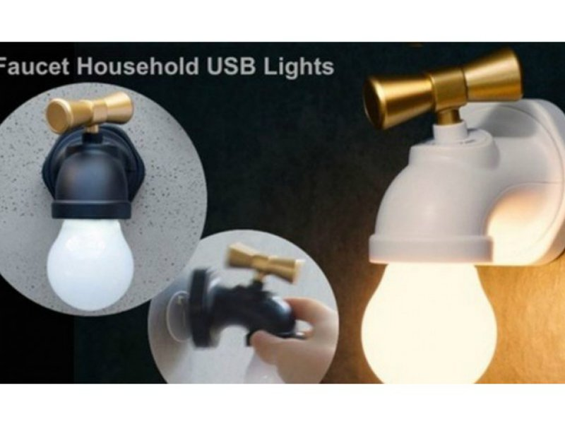 Faucet Type Voice Control Night Lamp @ Crazy Sales - We have the ...