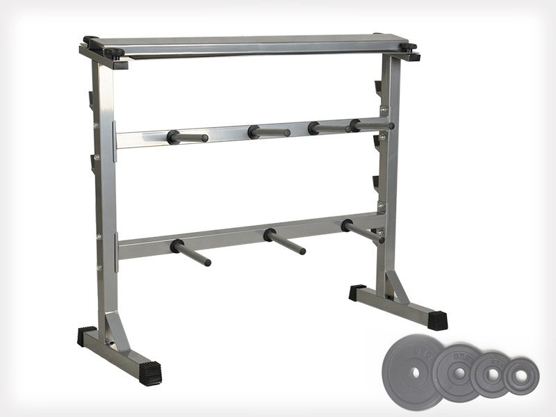 Multipurpose Dumbbell Rack