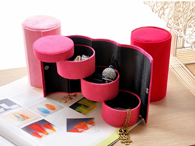 3 Layer Jewelry Box Organizer