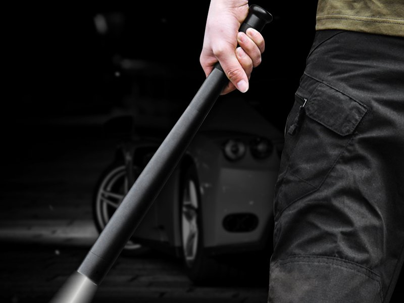 Waterproof Baseball Bat Shaped Torch