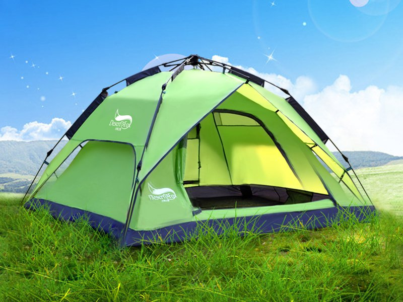 2 in 1 Pop-Up Camping Tent
