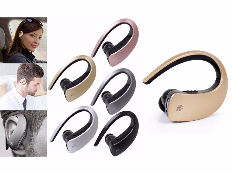 Bluetooth Ear Hook Headset With Mic
