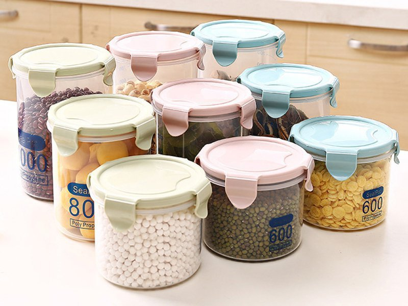 9pc Airtight Food Storage Containers