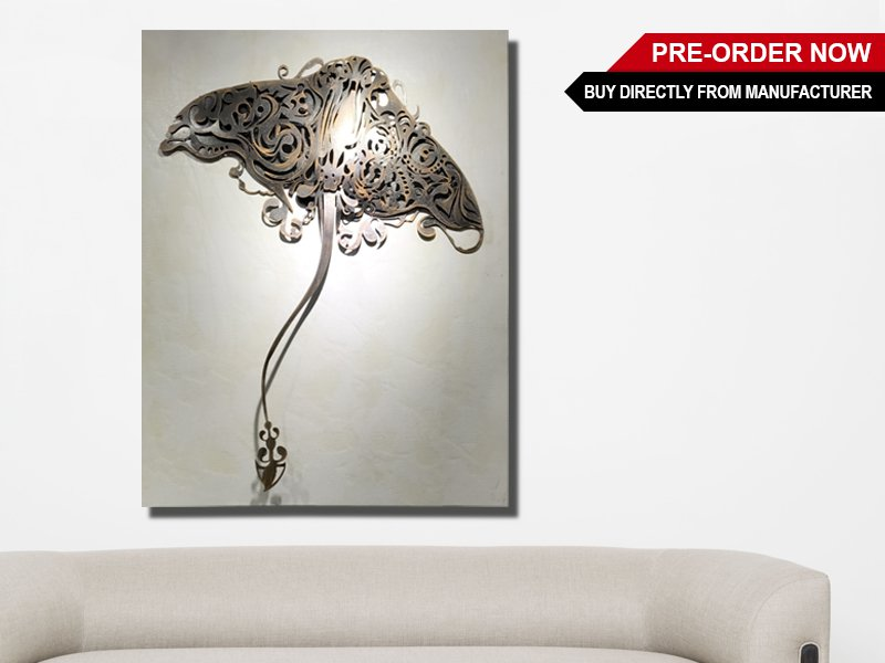 Stingray Metal Wall Art