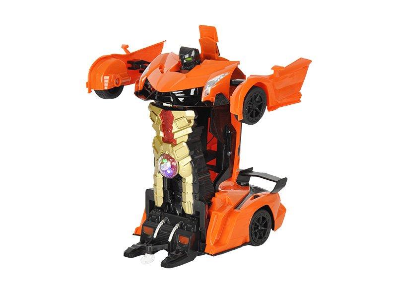 Online Car Sales >> Lamborghini RC Transformers Toy Car - Orange @ Crazy Sales - We have the best daily deals online!