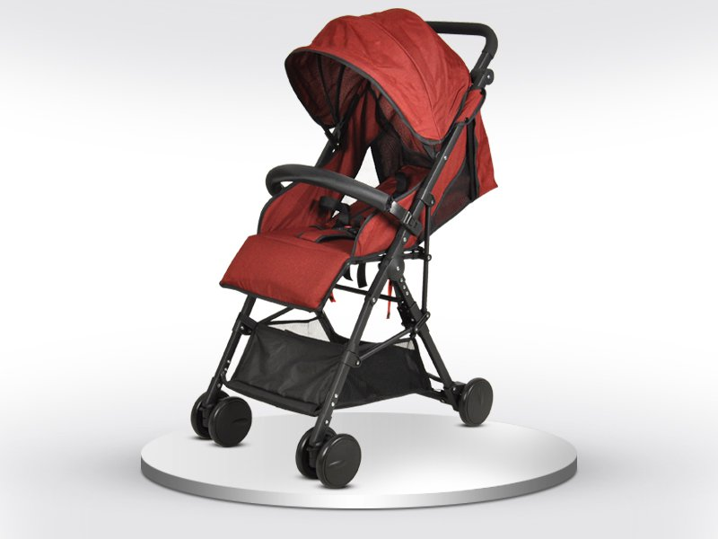 Foldable Baby Travel Stroller - Claret