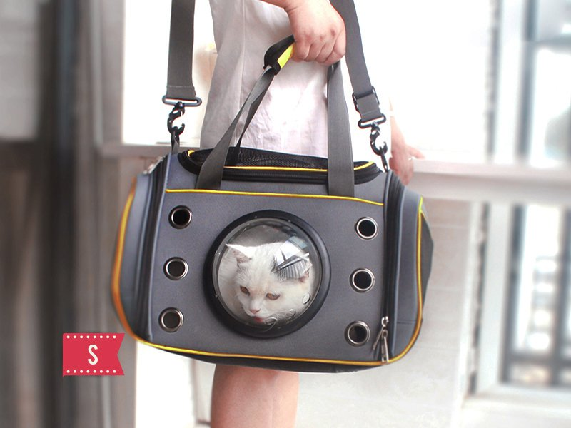 Pet space travel bag - small