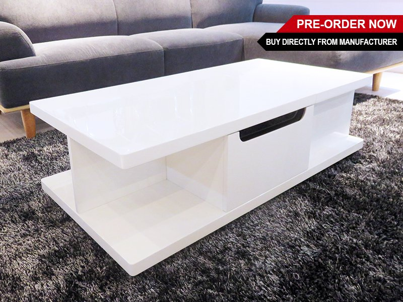 Lift Top Gloss Coffee Table