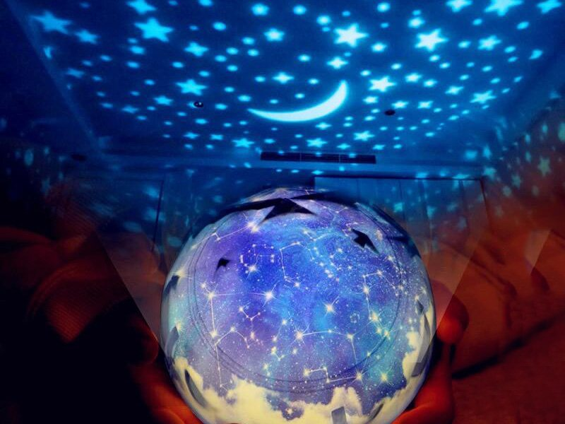 Children's Projection Lamp - Constellation