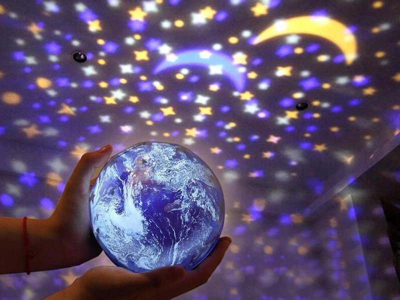 Children's Projection Lamp - Earth