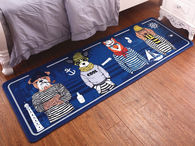 Kids Carpet Mat - 4 Dogs