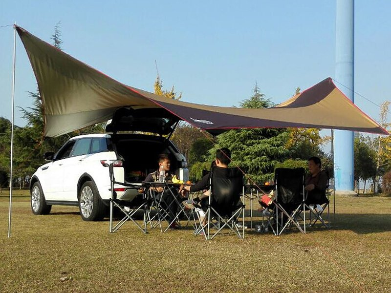 Spacious Camping Shade Sails