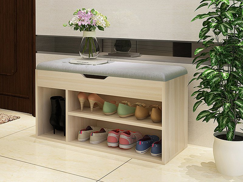 Multifunctional Shoe Changing & Storage Bench