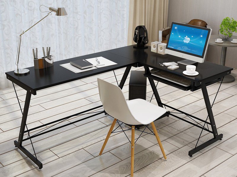 L - Shaped Computer Desk