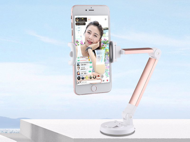 Adjustable Mobile Stand - Rose Gold