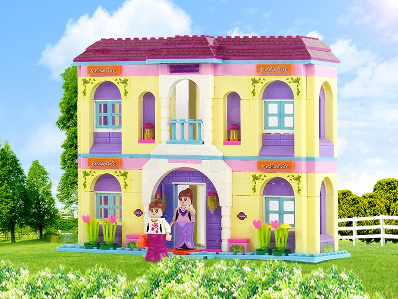 356pc Villa Building Block Toy