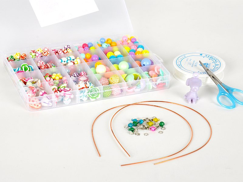 380pc Beads Jewellery Making Kit